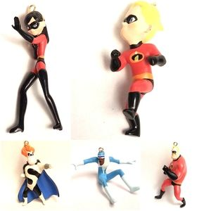 Disney Pixar The Incredibles Storybook Ornaments